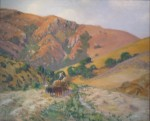 Loading Hay in Laguna Canyon by William Griffith