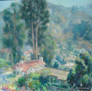 Hollywood Hills by John Hubbard Rich